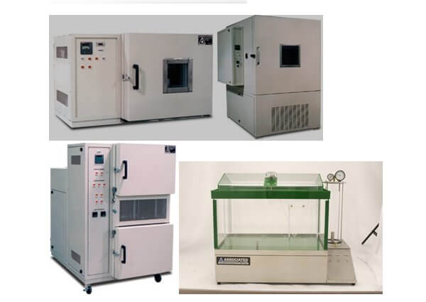 Test chambers Temperature, Temp-Humidity, AGREE, Salt-spray and Laboratory Ovens